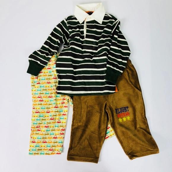 4751bc3111d45 Lot of Baby Boy Clothes Long Pants Long Sleeve Top
